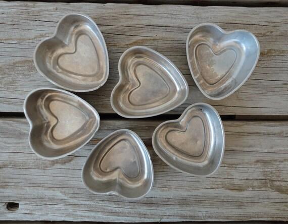 Mini Heart Baking Tins