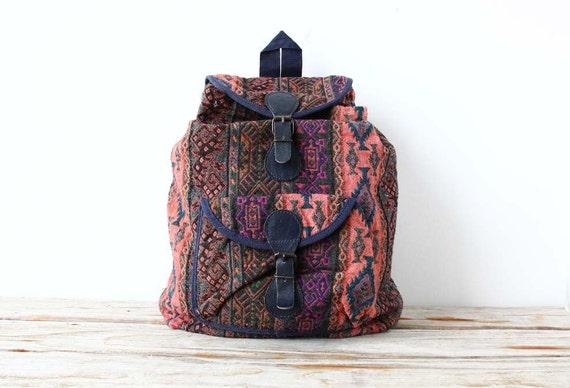 Colorful Southwestern Backpack