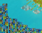 Utopian Dream - original abstract painting