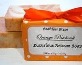 Orange Patchouli Handmade Vegan Soap