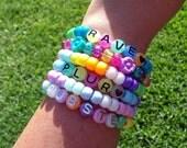 Rave PluR DuBsTeP Assorted Multicolor KANDI Bracelets