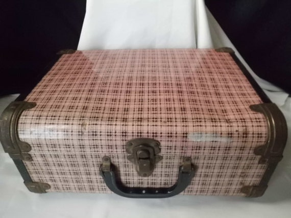 Black and Pink Little Overnighter Suitcase