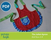The Juliet Apron Kid Sizes 2-8 PDF Sewing Pattern