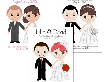 wedding activity book printable personalized custom 85x 55 wedding favor kids coloring activity book pdf - Personalized Wedding Coloring Book