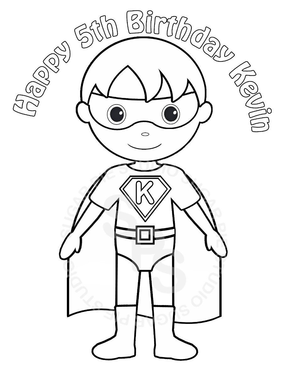 super heroes coloring pages - photo#32
