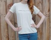 Organic Cotton 100%  Natural T-Shirt  L