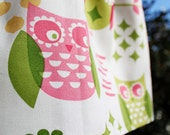 Cool owl skirt in Swedish/Scandinavian design by Lingonberry Latitude - Ready to ship