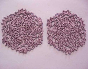 Set of Two Doilies
