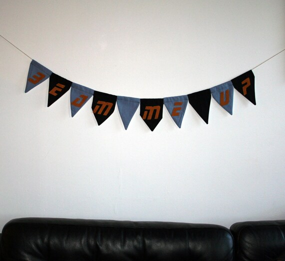 Beam Me Up - Pennant Banner