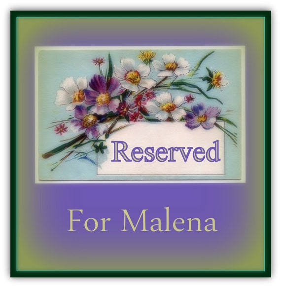 Reserved for Malina - Sample of bridesmaid's earrings.