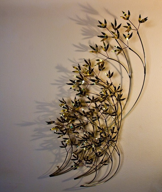 Bamboo in the Wind hanging wall sculpture reserved for MCMdesignaddict
