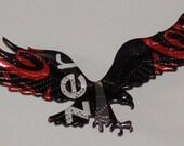 Eagle Magnet - Red Black Coca-Cola Zero Soda Can (R)