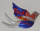 Dove Sparrow Bird - Red Bull Energy Drink Soda Can Magnet