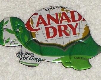 Turtle Magnet - Ginger Ale Soda Can (Replica)