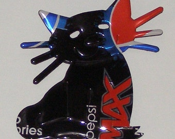 Cat Magnet - 'Whiskers' - Pepsi Max Soda Can Magnet (R)