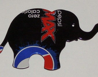 Elephant Magnet - Pepsi MAX Soda Can (Replica)