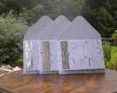 handmade paper gift card set