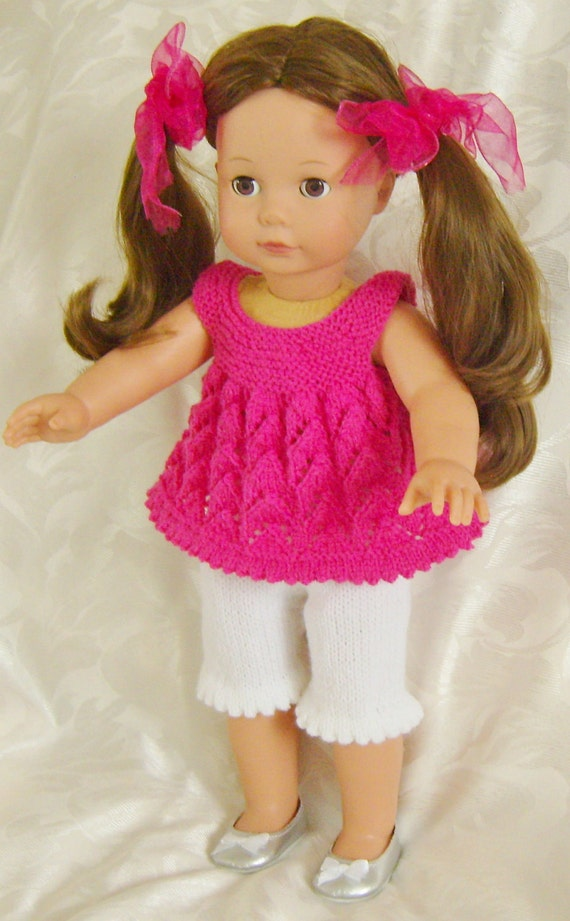 Free Knitting Patterns For 10 Inch Dolls Clothes : 13 Cream of the Crops PJs or Playtime Sets for 18inch by jacknitss