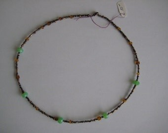 Mocha-Green Necklace