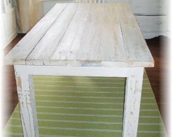 RESERVED - Farm Dining Table FREE SHIPPING