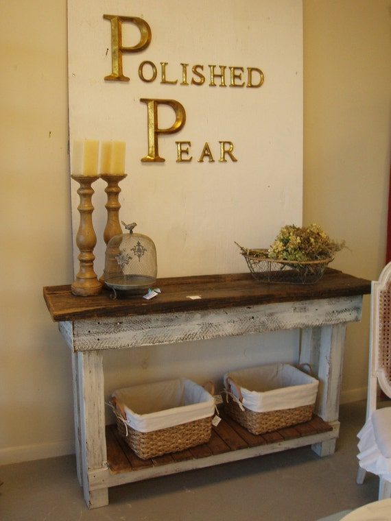 Barnwood Console Table  FREE SHIPPING