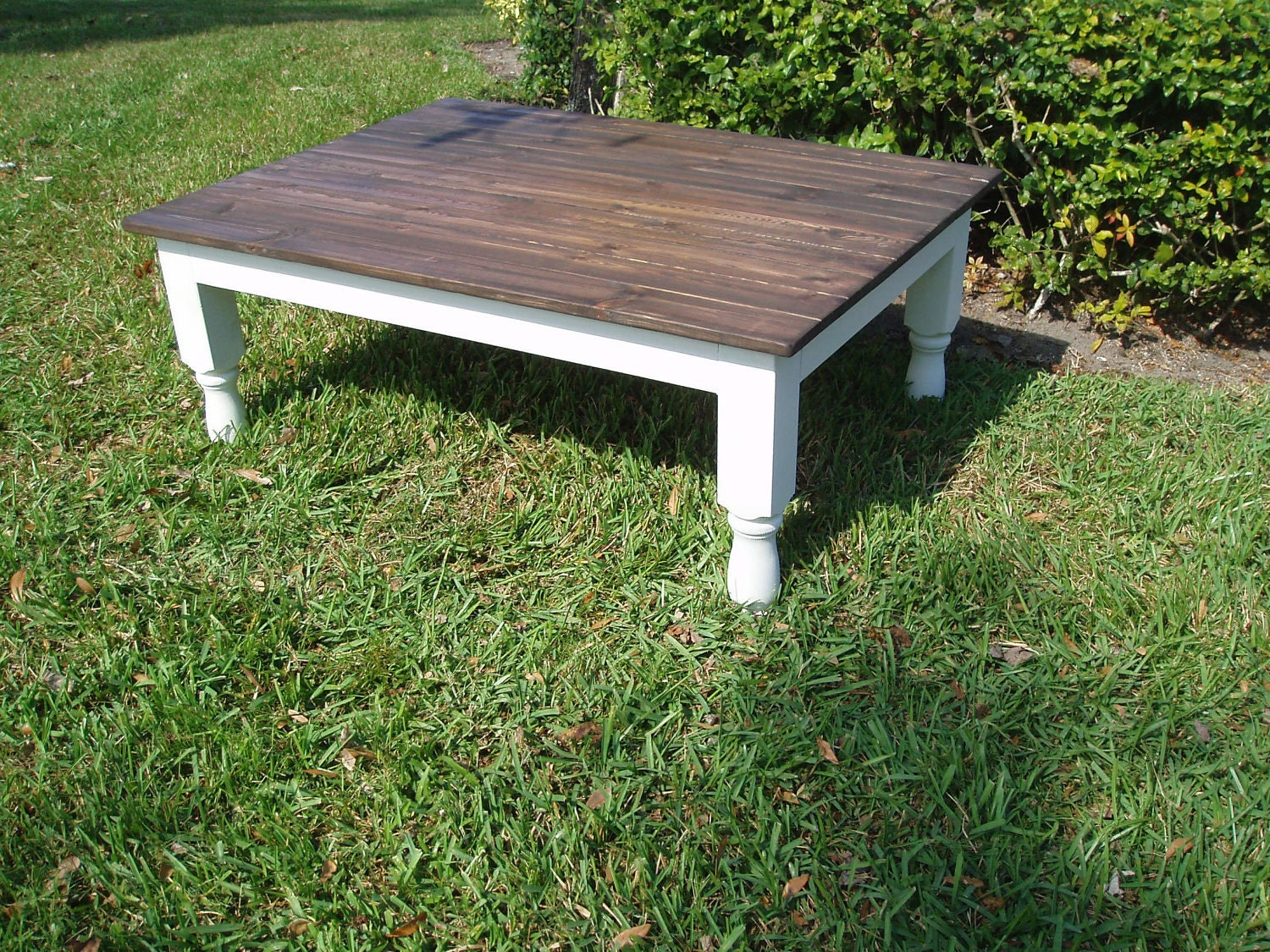Shabby chic coffee table - Table basse shabby chic ...