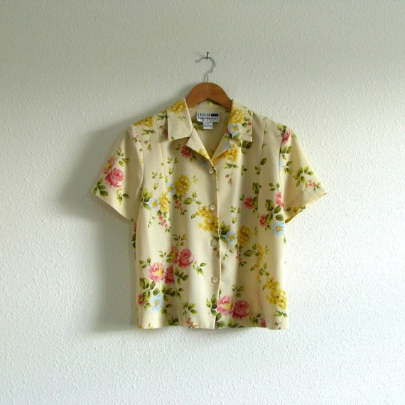 CLEARANCE Spring Floral Button up Shirt