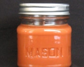 8 oz Soy Candle in a Cute Country Mason Jar  Made to Order