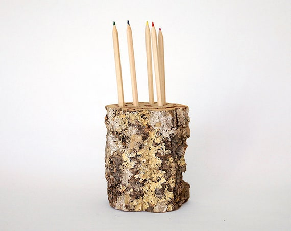 Wood Pencil-Holder - natural cork portugal