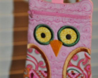 OWL ZIPPERED CASE