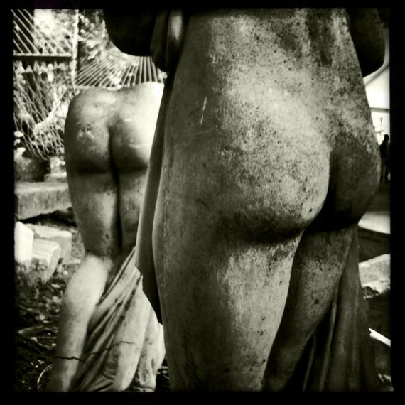 5x5 Statues Print