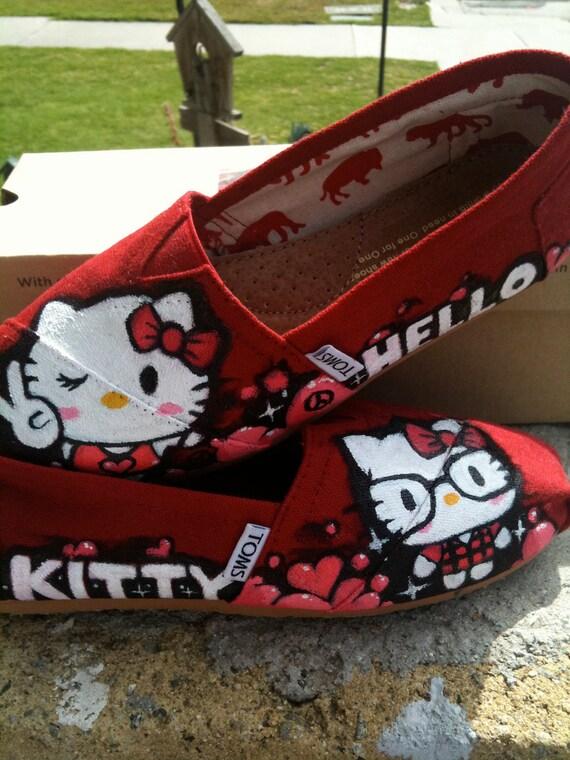 Custom Hello Kitty x TOMS (original design)