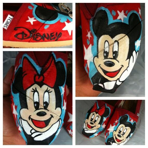 New Mickey n Minnie TOMS Design