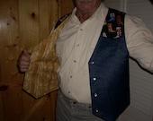 Boots Men's Western Vest - Size S