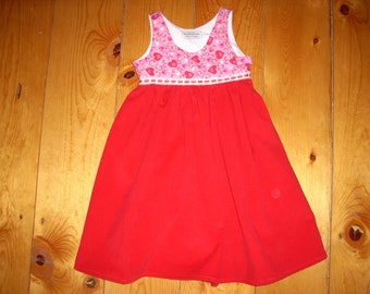 Toddler Sweetheart Dress - Size 3