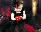 TWILIGHT Inspired Over the Top Boutique Hair Bow with Ostrich Puff Center and Matching Headband
