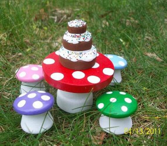 Mushroom dinner set