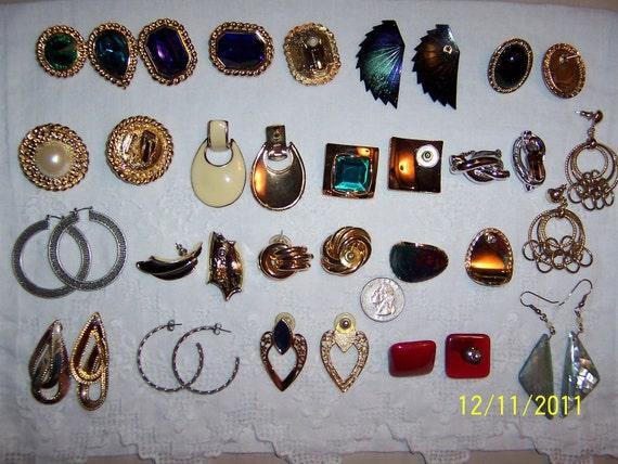 Vintage Jewelry (Lot 4). Big and Bold II.