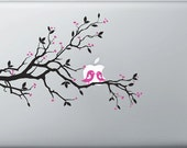 Vinyl Decal for Apple Macbook Pro/Air 13, 15, 17 - Spring