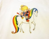 xX Star Lite Rainbow Xx Rainbow Brite Star Lite and Twink racer back tank top One Size fits Most