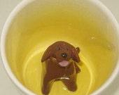 Chocolate Lab Surprise Mug (Made to Order)