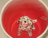 Dalmatian paw printed (In Stock)