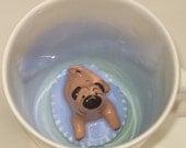 Pug Surprise Mug (Made to Order)