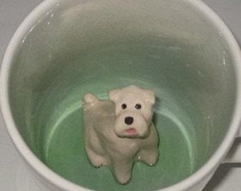 Wheaten Terrier Surprise Mug (Made to Order)