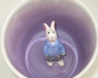 Jack the Rabbit Surprise Mug (Made to Order)