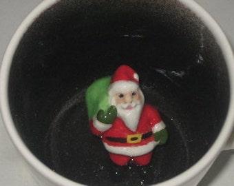 Santa Surprise Mug (Made to Order)