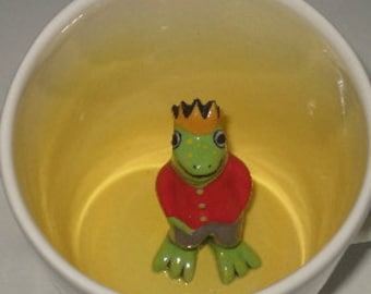 Frog Prince Surprise Mug (Made to Order)