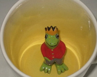 Frog Prince Surprise Mug  (In Stock)