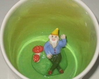Gnome Surprise Mug (Made to Order)