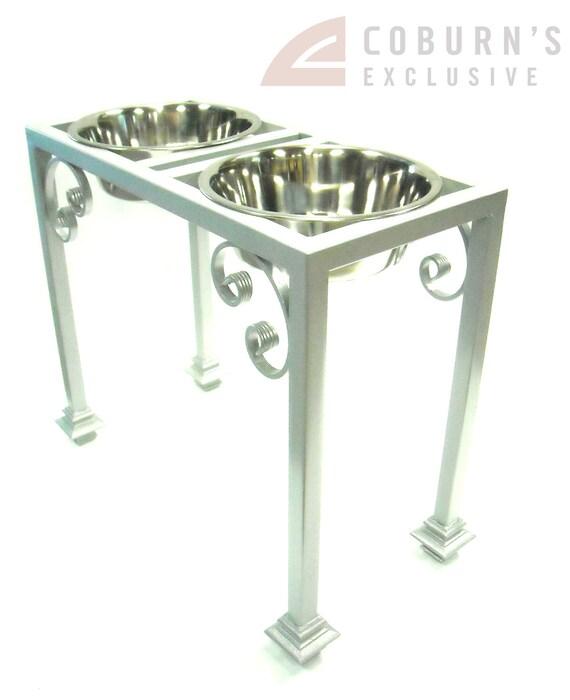 Elevated Dog Feeder, Bowl holder, Traditional design, 20 inch Great Dane Size